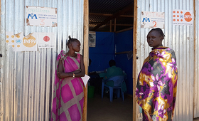 UNFPA calls for stepped up efforts to safeguard the health and protection of women and girls affected by the famine. ©UNFPA South Sudan